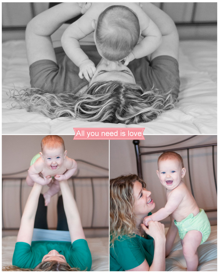 Rory Christine turns 7 months --- Waupaca Wisconsin Family Lifestyle Photographer