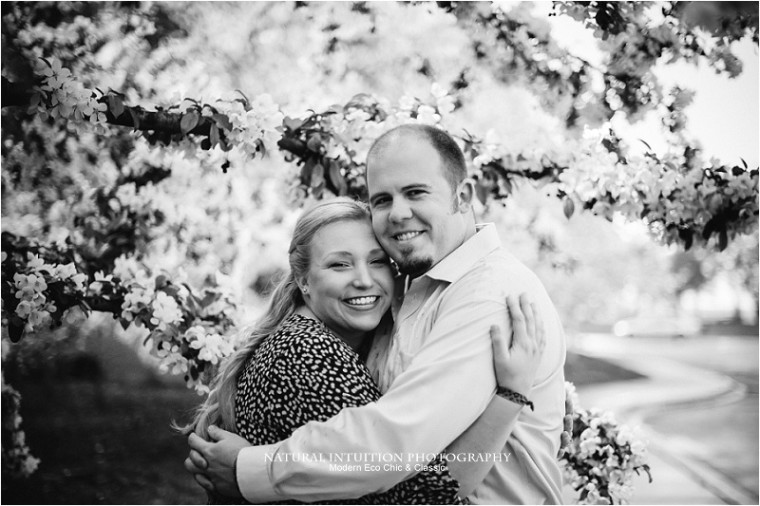 Madison Wedding Photographer, Olbrich Park, Spring Engagement, Madision Wisconsin Engagement, Rainy Engagment