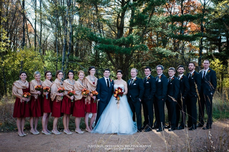 Waupaca WI Stevens Point WI Fall Wedding Photographer (c) Natural Intuition Photography_0042