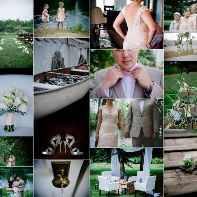 Elegant Backyard Wedding, Modern Wisconsin Wedding Photographer, Rustic Wedding