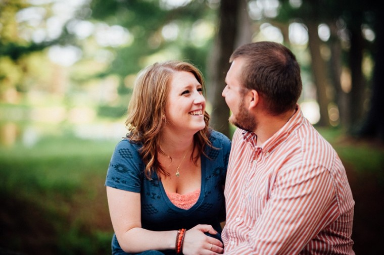 Park Engagement, Stevens Point Engagement Session, Wisconsin Engagement, Madison Photographer