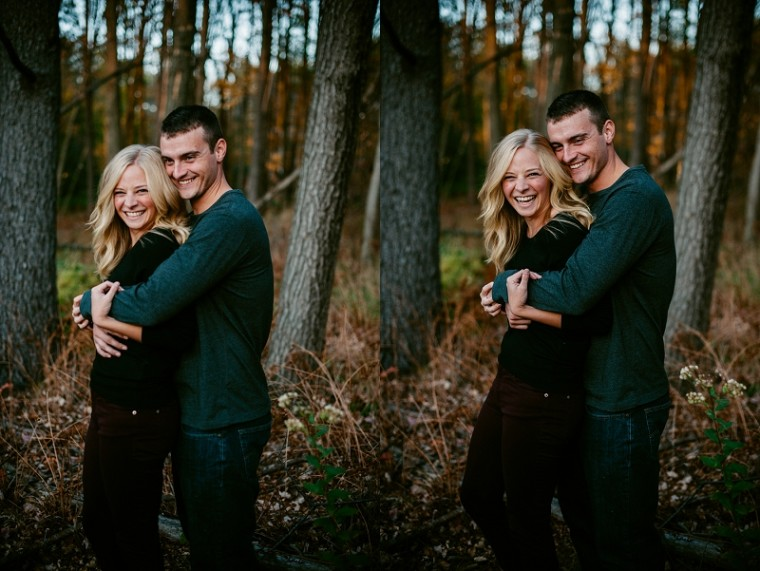 Fall Engement Inspiration / Stevens Point Wisconsin Photographer