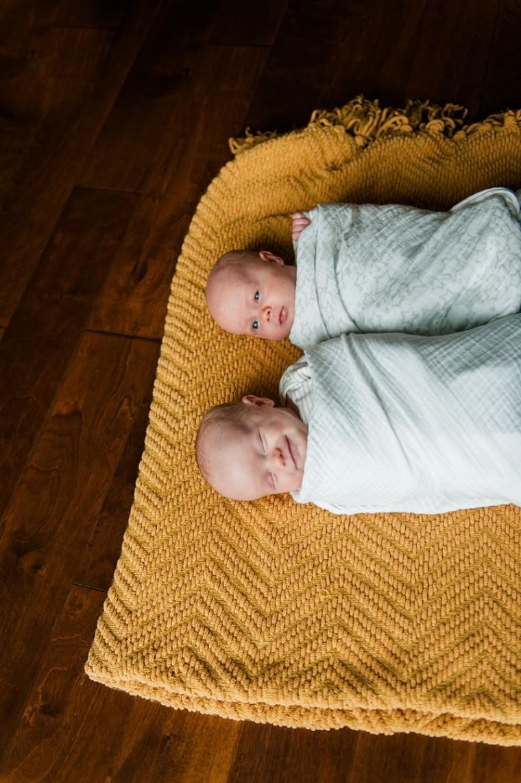 Twins Newborn Photography - Wausau Wisconsin