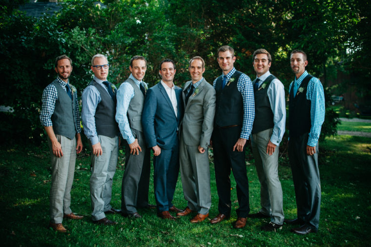 Men's Wedding Style - Wisconsin Wedding Photographer - Natural Intuition Photography