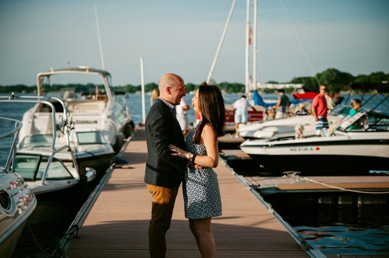 Proposal Shoot at Edgewater in Madison Wisconsin, Engagement