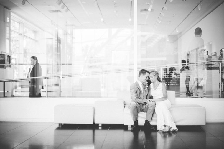 BHLDN Wedding Dress, Meuseum Wedding, MMoA Wedding Madison Wisconsin, Madison Wisconsin Wedding Photographer, daffodill parker Flowers