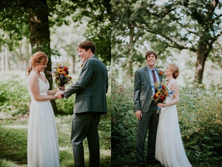Olin Park Madison Wisconsin Wedding, Park Wedding, First Look Photos