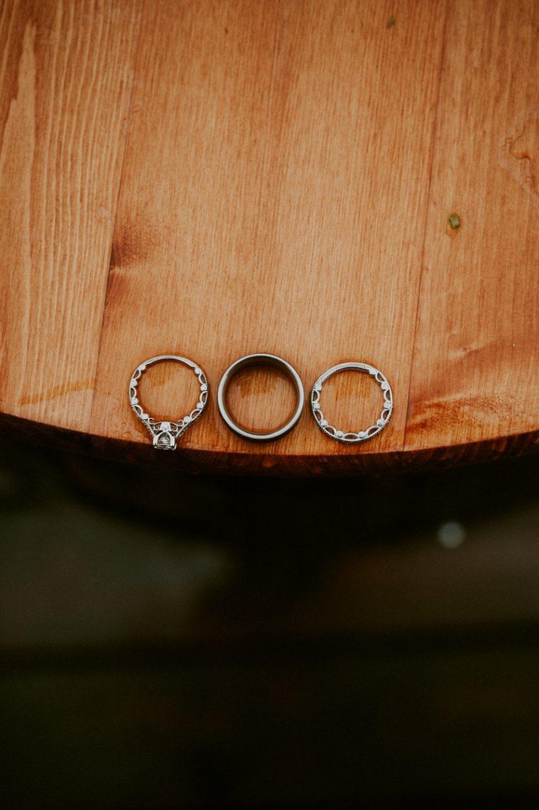 Barn Wedding, Rainy Barn Wedding, Madison Wisconsin Wedding Photographer, Wedding ring Photo
