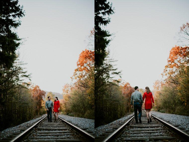 Fall Lake Engagement Session, Devils Lake Engagement, Engagement Session, Moody Engagement