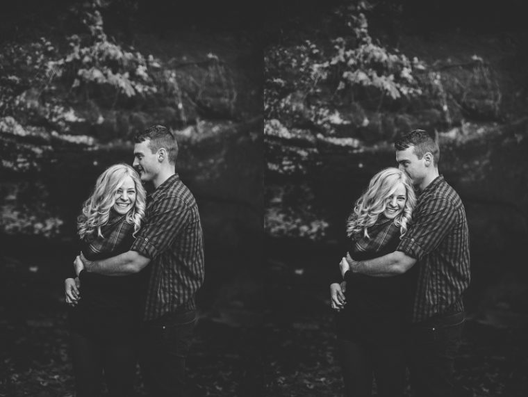 governor dodge state park, Anniversary Session, Madison Wisconsin Anniversary Photographer, Outdoor Engagement , Adventure engagement, waterfall engagement,