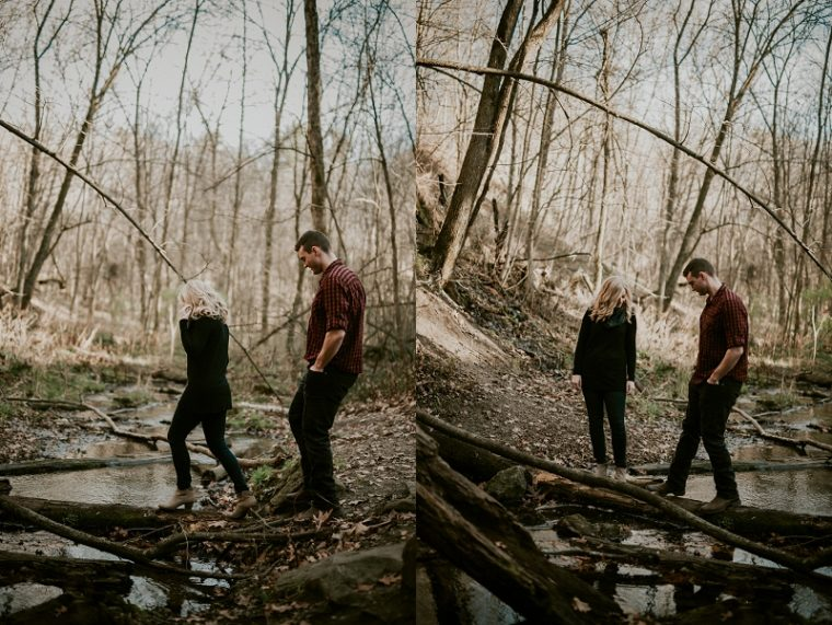 governor dodge state park, Anniversary Session, Madison Wisconsin Anniversary Photographer, Outdoor Engagement , Adventure engagement, couples with tattoos,