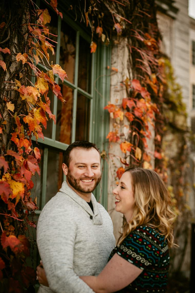 Fall Engagement on the Water, Madison WI Wedding Photographer