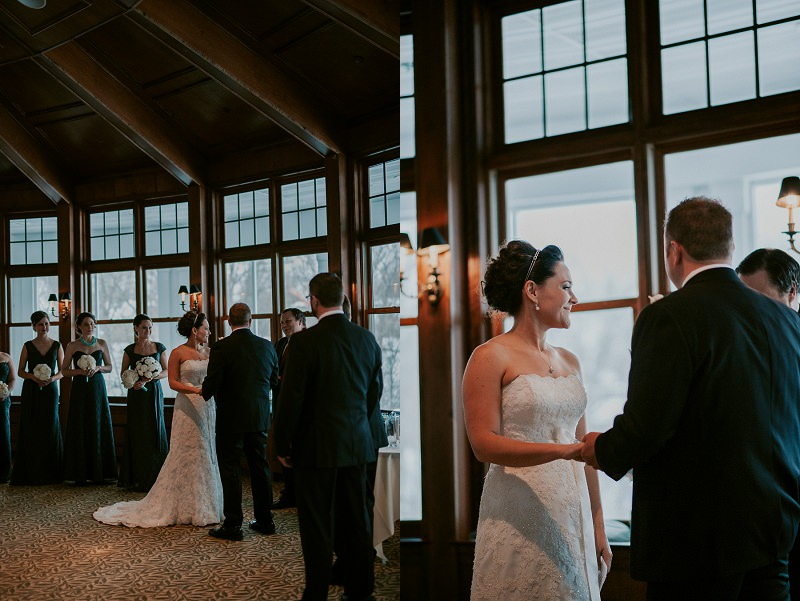 Indoor Wedding In Unique Wisconsin Venue