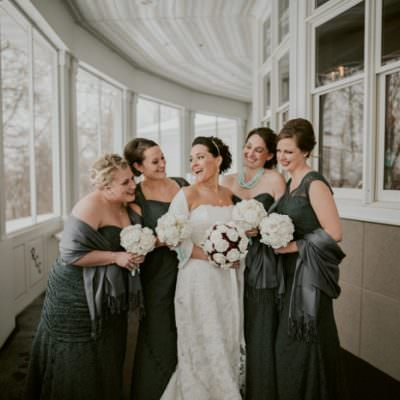 Bridesmaid Photos, Indoor Wedding in Unique Wisconsin Venue - Appleton Wisconsin, Madison Wisconsin Wedding Photographer