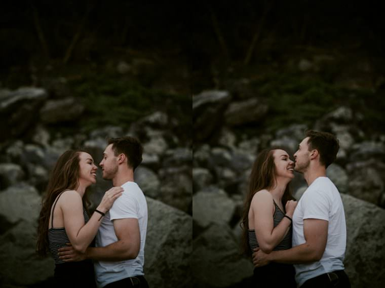 Lake Engagement, Devil's Lake Engagement Session, Baraboo Wisconsin Photographer, Madison WI Wedding Photographer