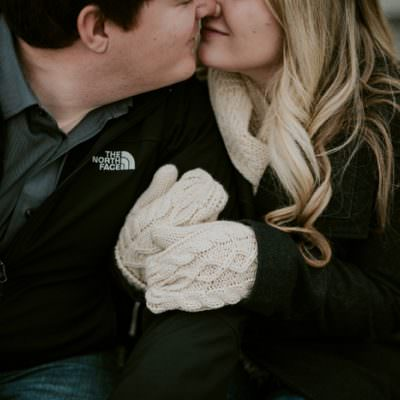 Cute Winter Engagement, Riverwalk Water Buffalo Milwaukee Wisconsin Engagement, Third Ward Engagement, Milwaukee Wisconsin Wedding Photographer