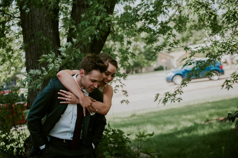First look, Church Wedding, Wisconsin Wedding, Summer Wedding, Madison WI Wedding Photographer