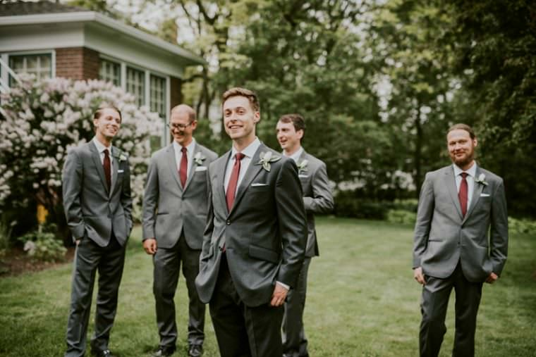 Groomsnan Photos, Grey Bridesmaid Dresses, DIY Wedding Photographers, Wisconsin Wedding, Summer Wedding, Madison WI Wedding Photographer