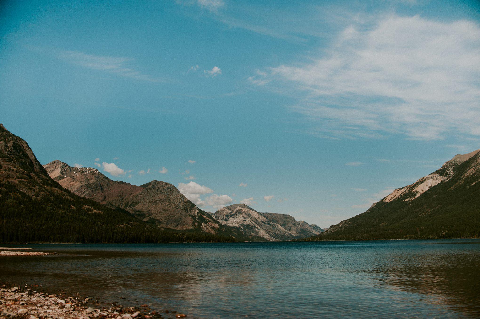 Goat Haunt, Trail Crew, Canada, Glacier National Park