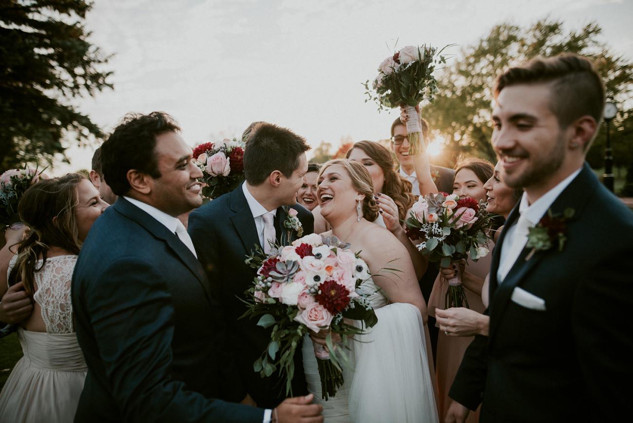 Milwaukee Wedding Photographer, Pink & Green Wedding