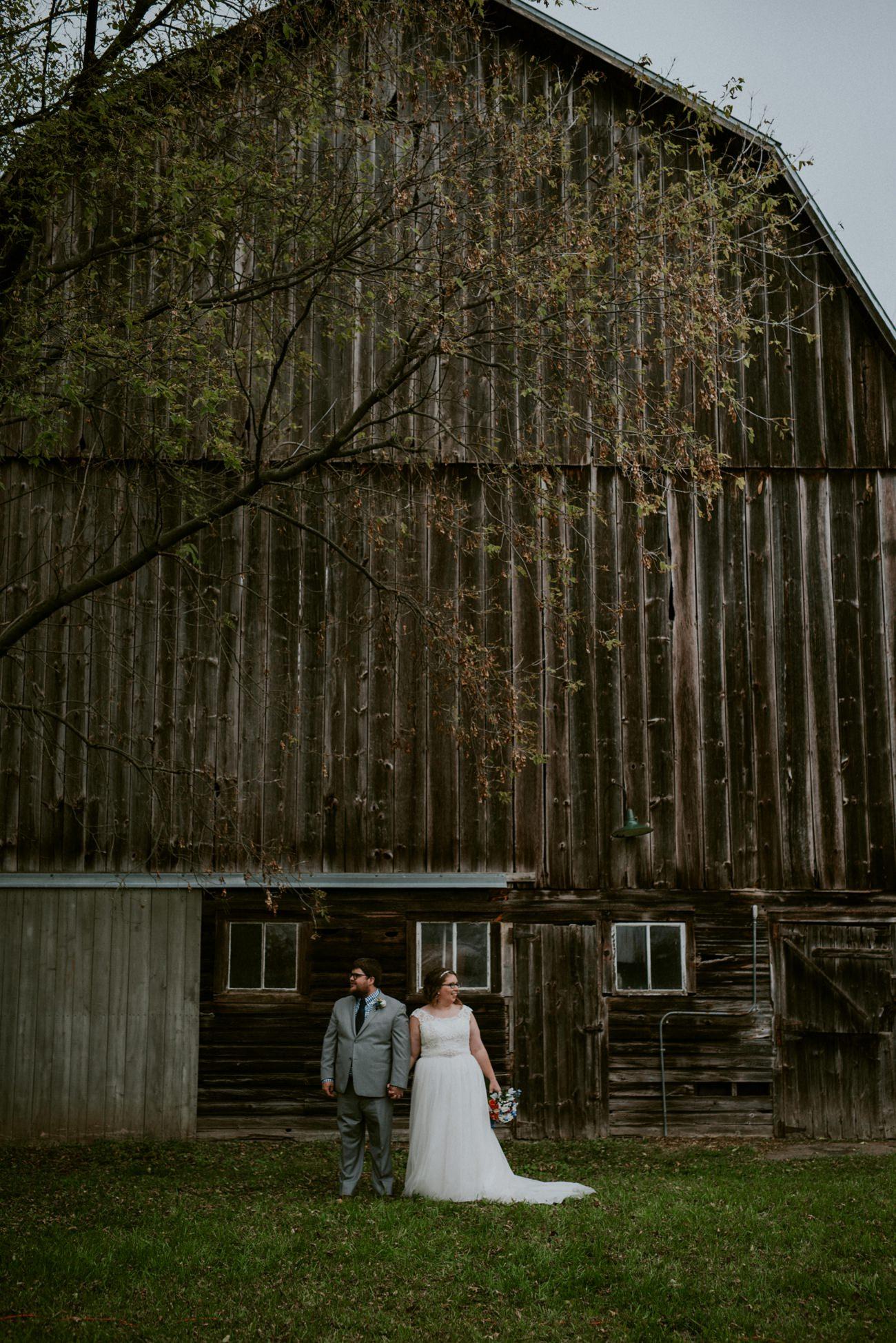 Waupaca Wi Wedding | Barn Wedding