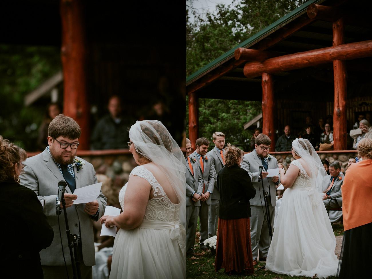 Waupaca Wi Wedding | Lodge Wedding