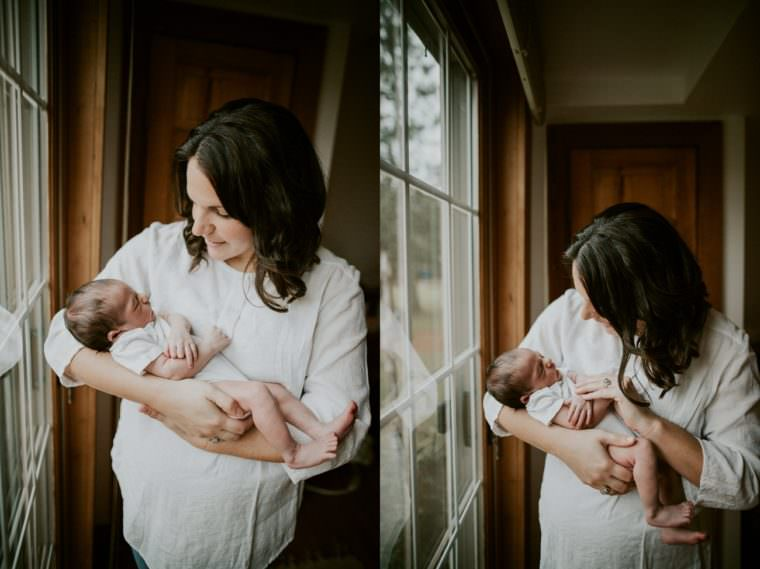 In Home Newborn Session - Madison WI
