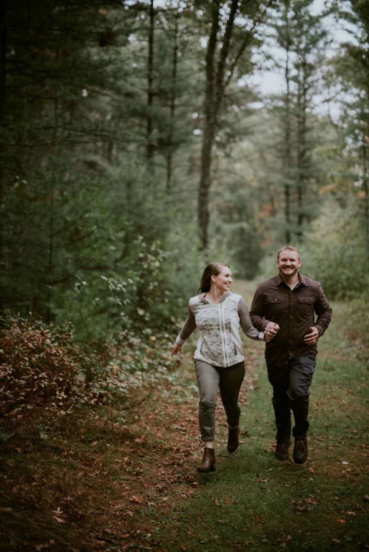 Black River Falls WI State Park Engagement
