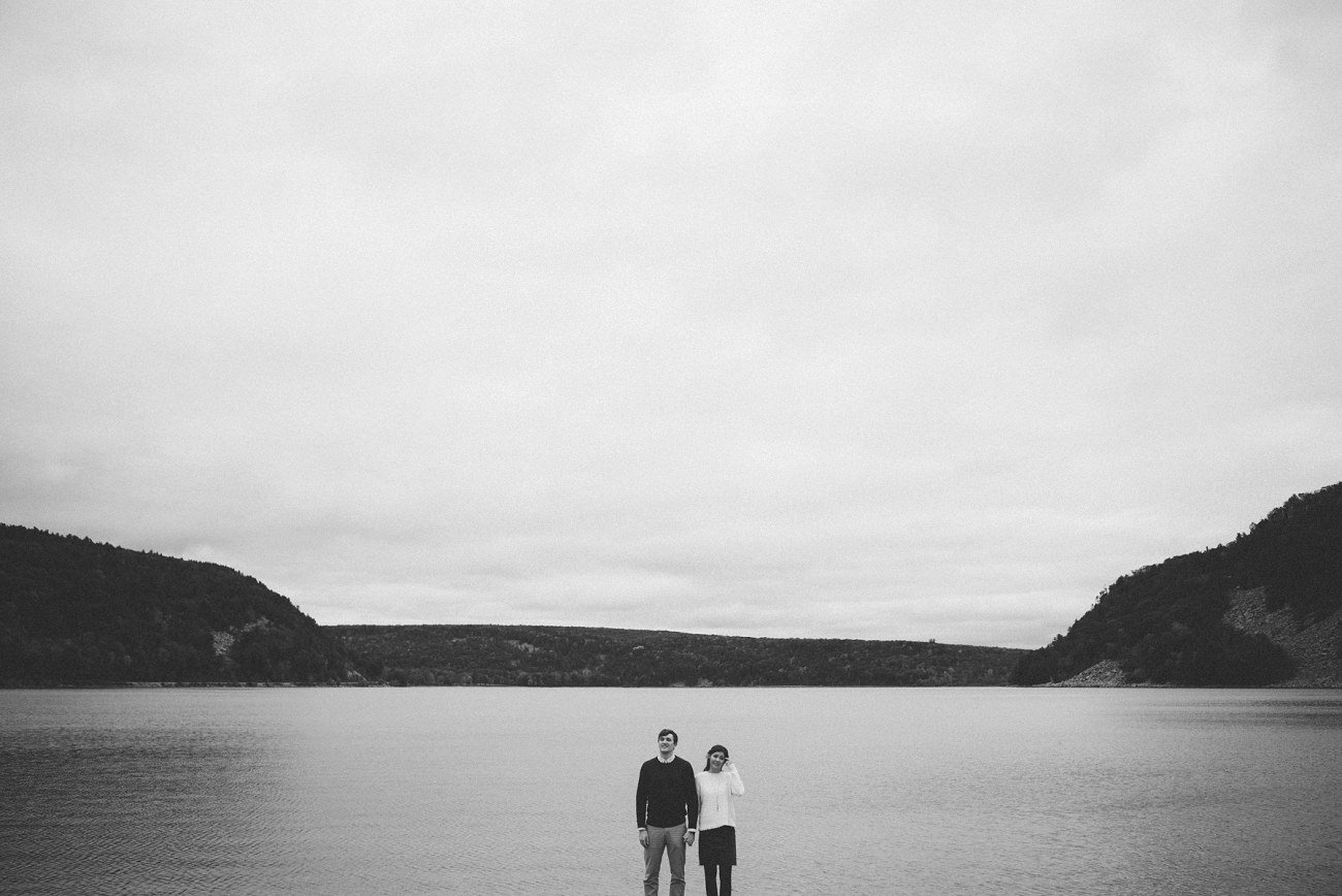 Lake Engagement Session - Madison Wisconsin Photographer