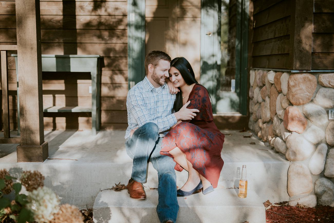 Fall Milwaukee Engagement - Milwaukee Wedding Photographer - Natural Intuition Photography