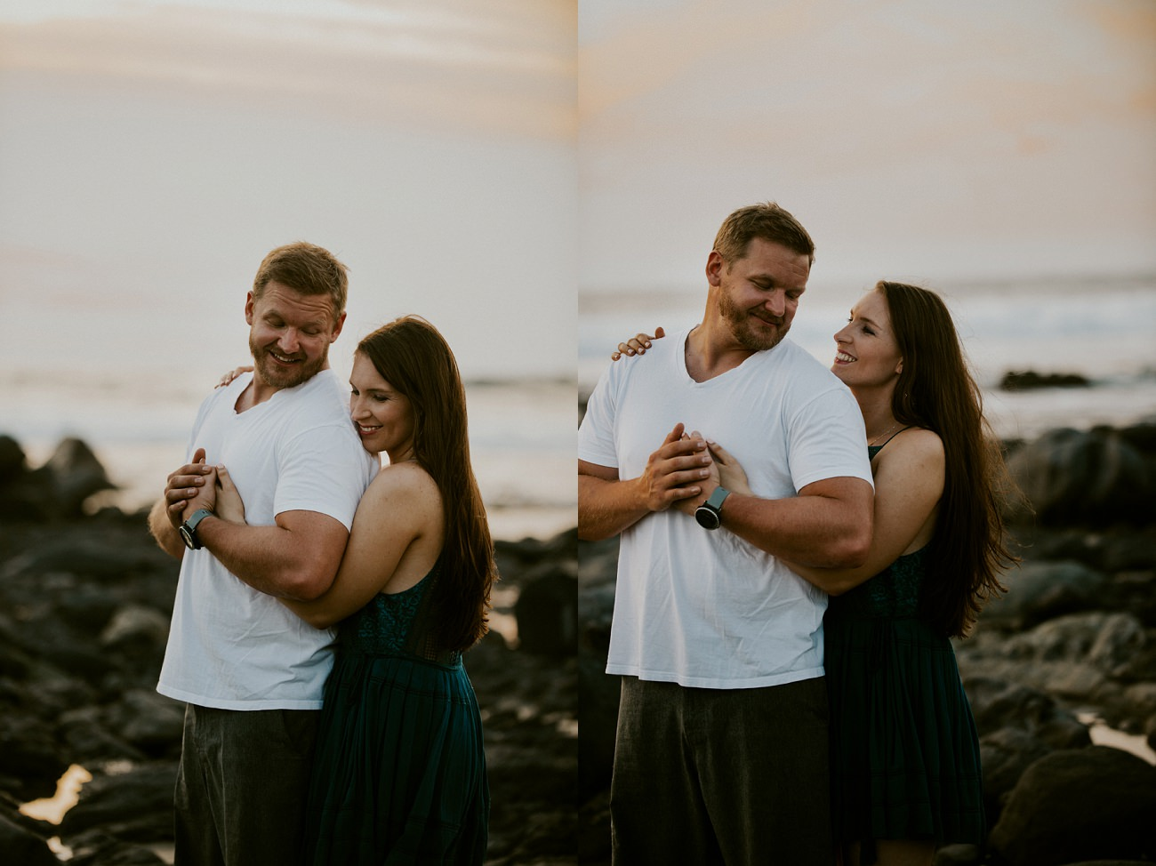 beach day after session mexico - destination wedding photographer - natural intuition photo