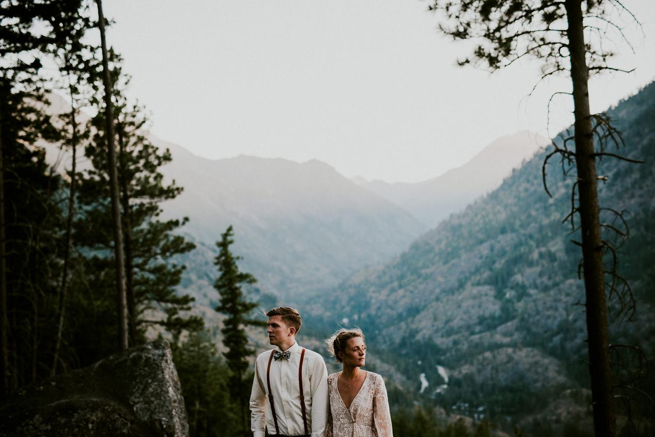 Mountain Elopement in Leavenworth Washington - Seattle Washington Photographer