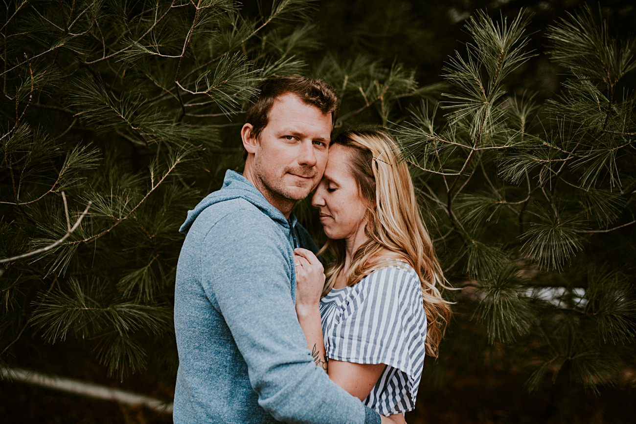 Anniversary Session - Madison Wisconsin - Moody Spring Session - Natural Intuition Photography
