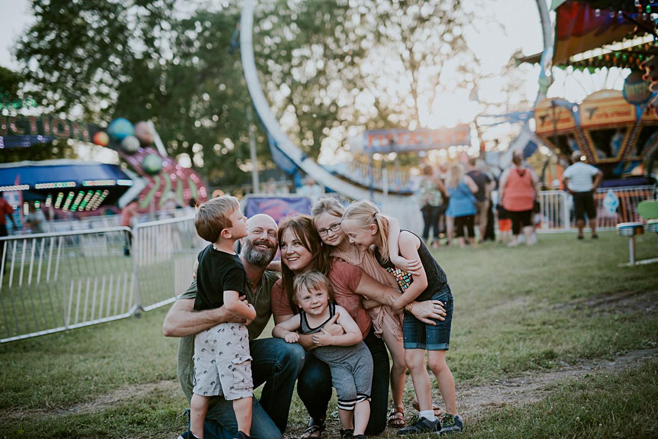 FAir Family Session | Summer Family Photos - Madison WI Family Photographer