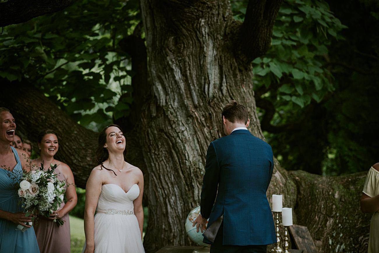 Backyard Hilltop Wedding in Spring Green Wisconsin, Madison WI Wedding Photographer