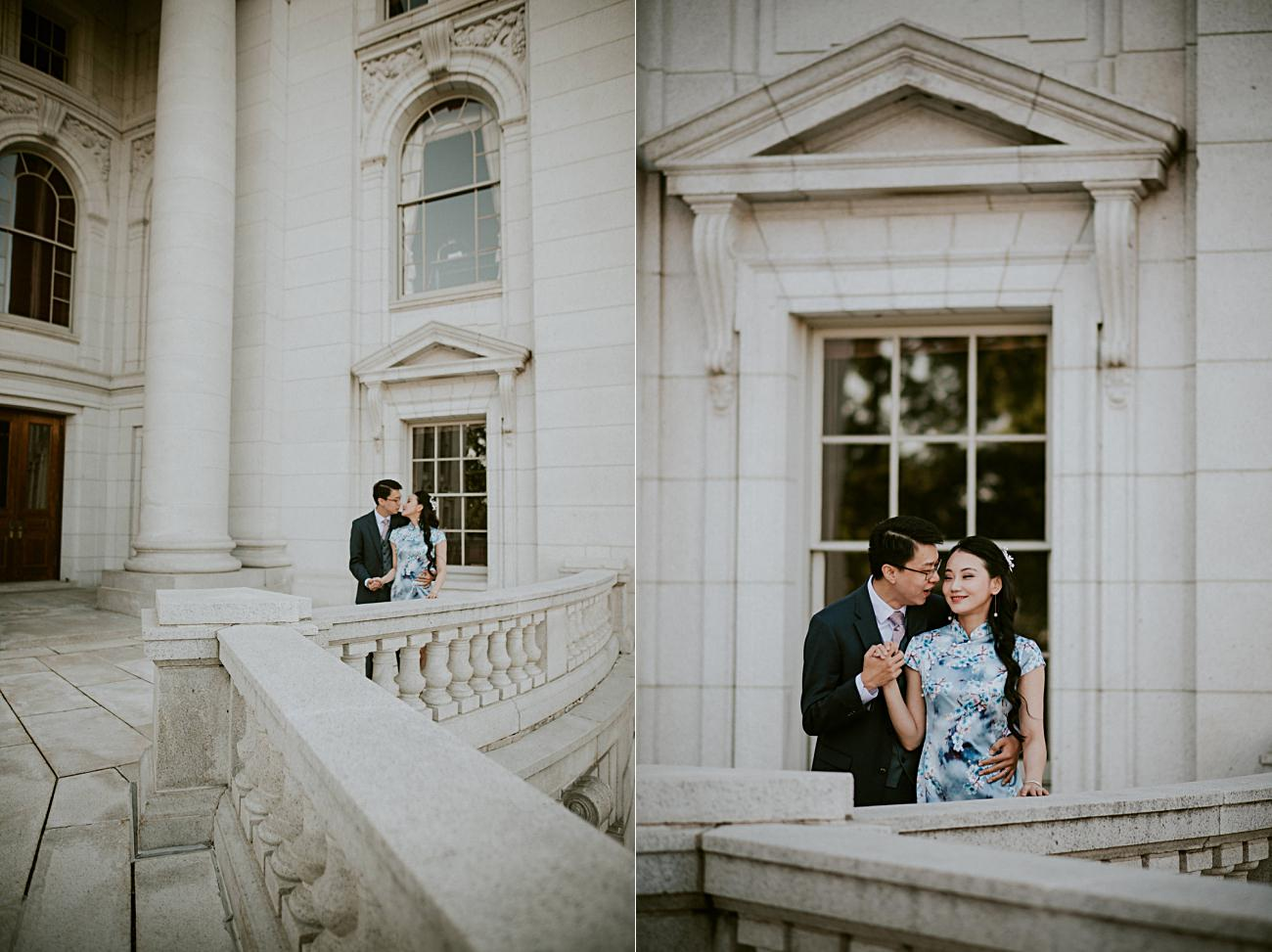 Anniversary Session at State Capital Building, Madison Wisconsin Photographer