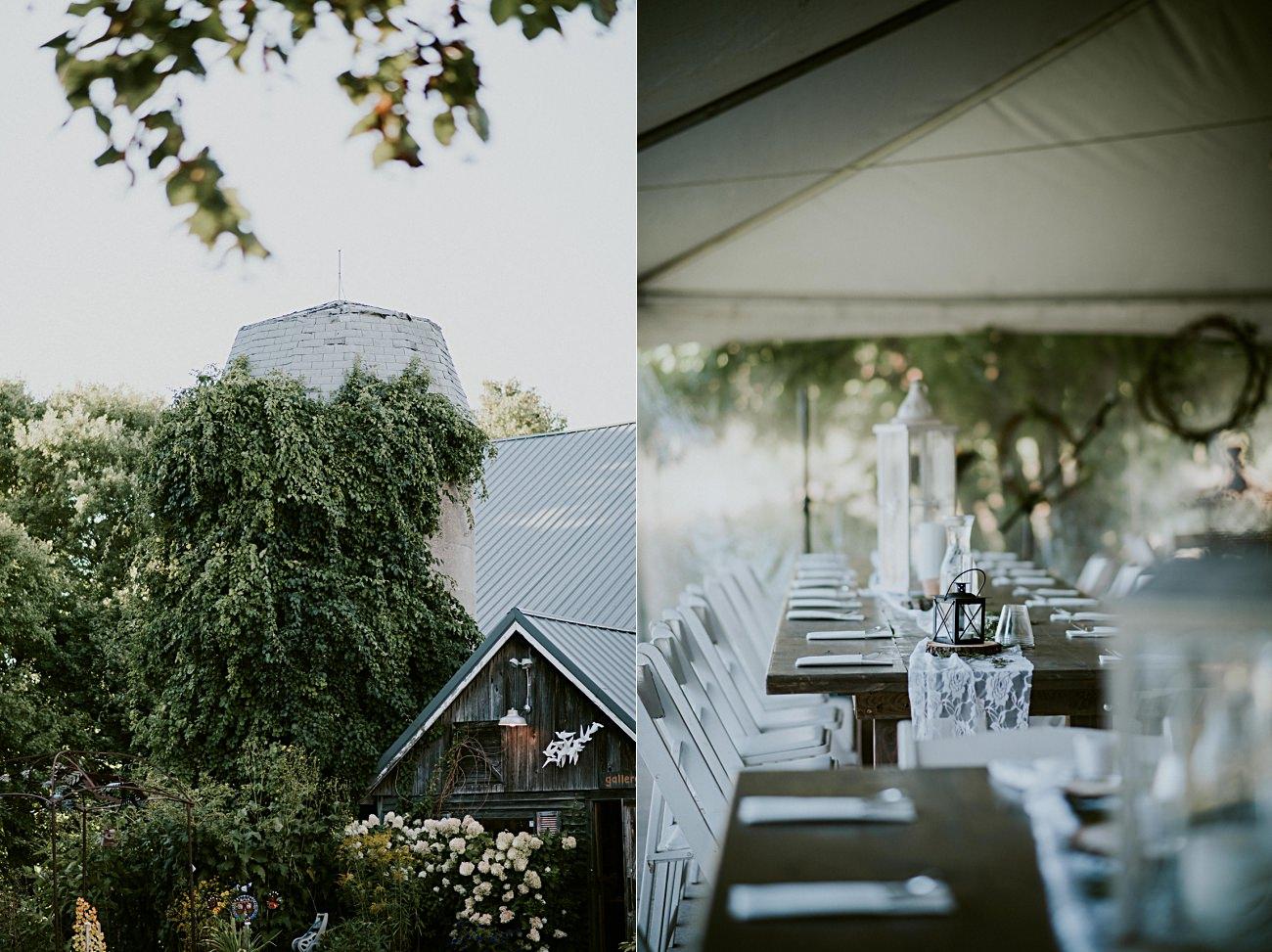 Barn Wedding - Wedding Party Photos - Door County Wedding
