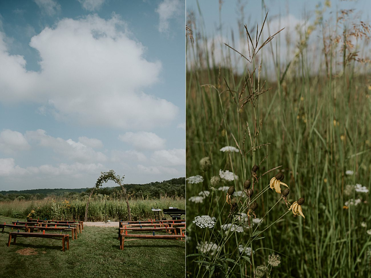 Mt Horeb Wisconsin Backyard Wedding - Madison Wisconsin Wedding Photographer