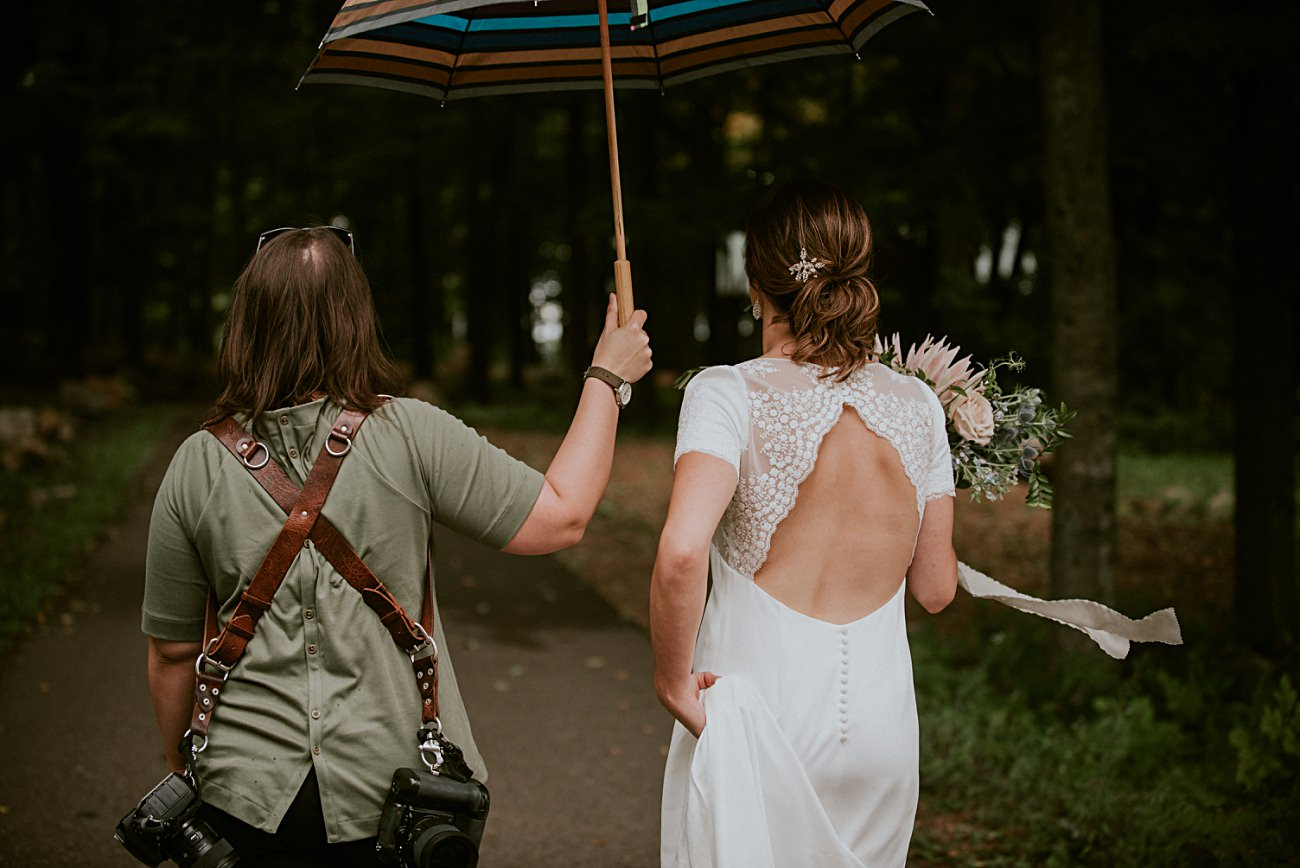 Mountaintop First Look Photos, Rib Mountain Wedding in Wausau Wisconsin - Mountaintop Wedding, Wisconsin Wedding - Natural Intuition Photography