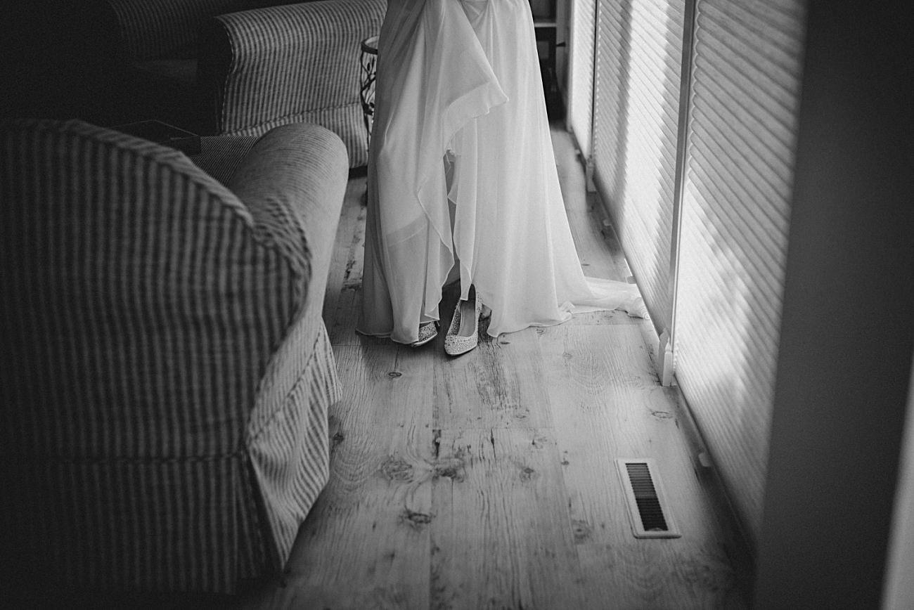 Getting Ready bride - Heidel House Wedding - Green Lake Wisconsin Wedding