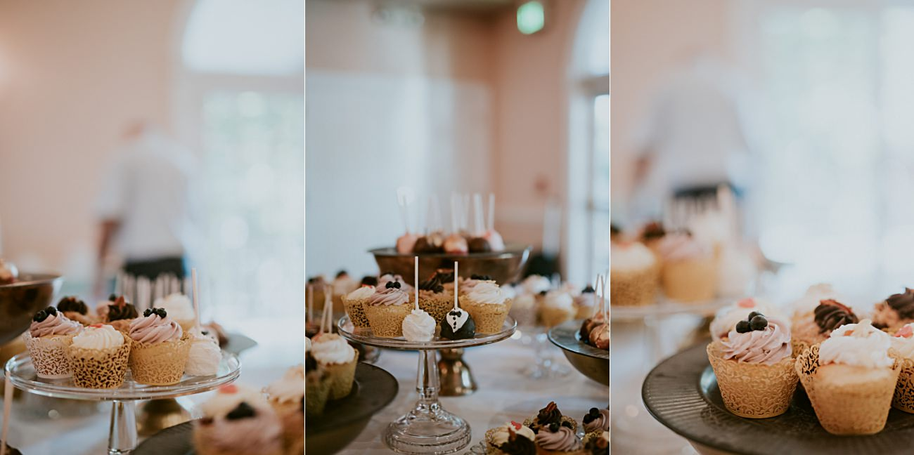 Bride and groom cupcakes, Lakeside wedding in Green Lake Wisconsin -Heidel House Wedding - Green Lake Wisconsin Wedding
