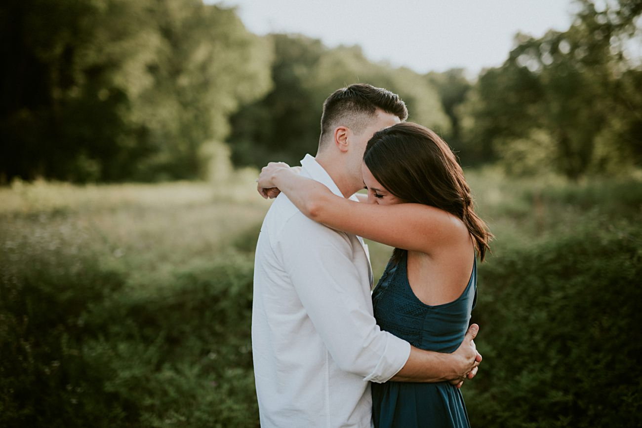 Summer milwaukee engagement session - natural intuition photography