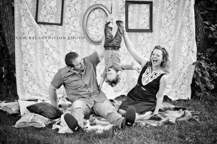 Stevens Point Wisconsin Professional Family Photographer