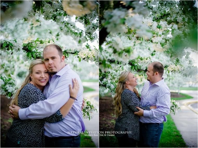 Madison Wedding Photographer, Olbrich Park, Spring Engagement, Madision Wisconsin Engagement, Rainy Engagment