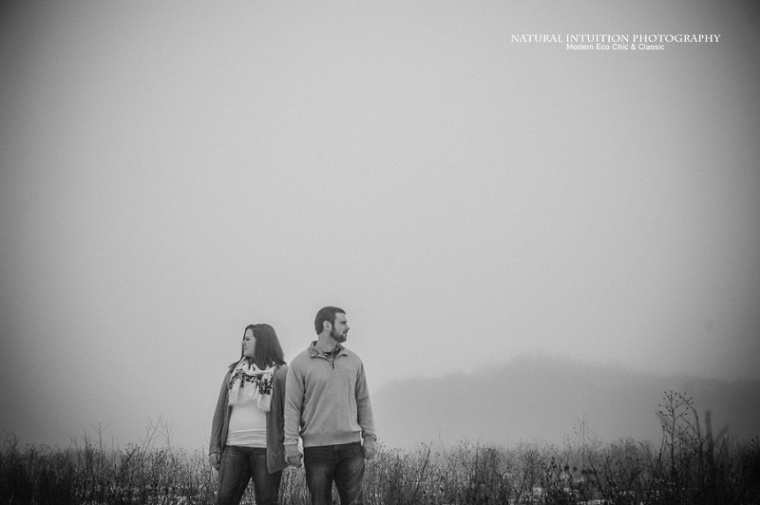 Stevens Point WI Foggy Engagement Sessionv (c) Natural Intuition Photography_0010