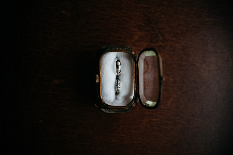 Unique Ring Box, Antique Ring Box, Lace Wedding Dress, Bridal Gown, Waupaca Wedding, Wisconsin Wedding Photographer