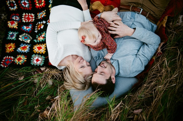 Fall Family session in the Woods