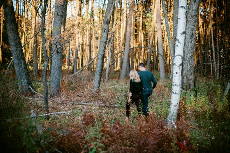 Couple Session in the Woods near Stevens Point Wisconsin