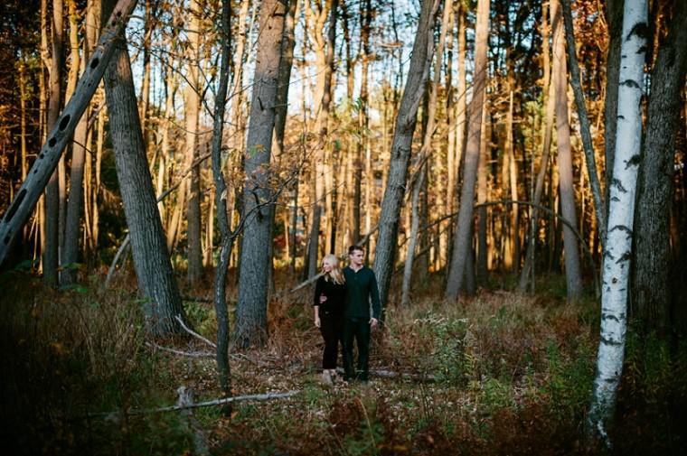 Fall Engement Inspiration / Stevens Point Wisconsin Photographer