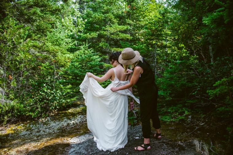 Duluth Minnesota Wedding Photographer - Mountain Elopement - Woven & Wed